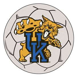 University of Kentucky  Soccer Ball Mat, Rug , Carpet
