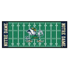 Notre Dame  Football Field Runner Mat Rug Carpet