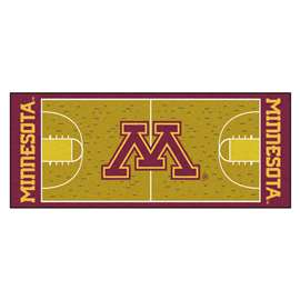 University of Minnesota  NCAA Basketball Runner Mat, Carpet, Rug