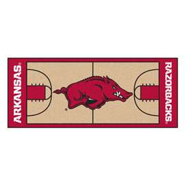 University of Arkansas  NCAA Basketball Runner Mat, Carpet, Rug
