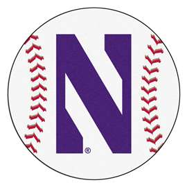 Northwestern University  Baseball Mat Rug Carpet Mats