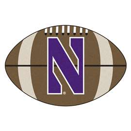 Northwestern University  Football Mat Mat Rug Carpet