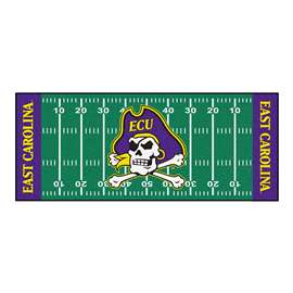 East Carolina University  Football Field Runner Mat Rug Carpet