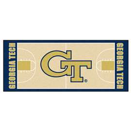 Georgia Tech  NCAA Basketball Runner Mat, Carpet, Rug