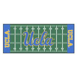 University of California - Los Angeles (UCLA)  Football Field Runner Mat Rug Carpet
