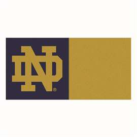 Notre Dame  Team Carpet Tiles Rug, Carpet, Mats