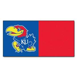 University of Kansas  Team Carpet Tiles Rug, Carpet, Mats