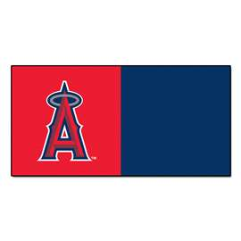 "MLB - Los Angeles Angels 18""x18"" Carpet Tiles  Team Carpet Tiles"
