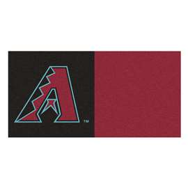 "MLB - Arizona Diamondbacks 18""x18"" Carpet Tiles  Team Carpet Tiles"