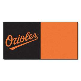 "MLB - Baltimore Orioles 18""x18"" Carpet Tiles  Team Carpet Tiles"