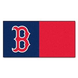 "MLB - Boston Red Sox 18""x18"" Carpet Tiles  Team Carpet Tiles"