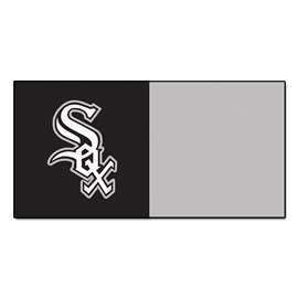 "MLB - Chicago White Sox 18""x18"" Carpet Tiles  Team Carpet Tiles"