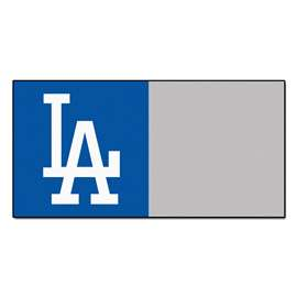 "MLB - Los Angeles Dodgers 18""x18"" Carpet Tiles  Team Carpet Tiles"
