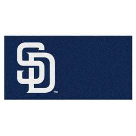"MLB - San Diego Padres 18""x18"" Carpet Tiles  Team Carpet Tiles"