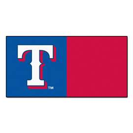 "MLB - Texas Rangers 18""x18"" Carpet Tiles  Team Carpet Tiles"