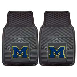 University of Michigan  2-pc Vinyl Car Mat Set