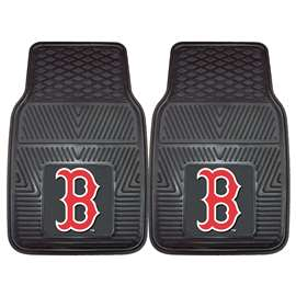 "MLB - Boston Red Sox 2-pc Vinyl Car Mats 17""x27""  2-pc Vinyl Car Mat Set"