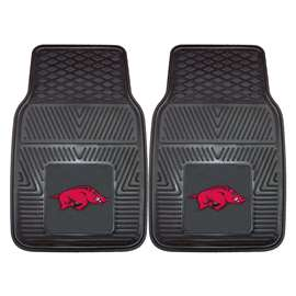 University of Arkansas  2-pc Vinyl Car Mat Set
