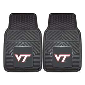 Virginia Tech  2-pc Vinyl Car Mat Set