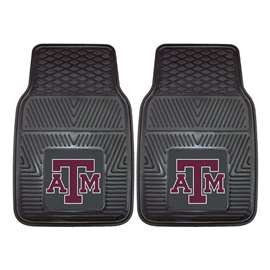 Texas A&M University  2-pc Vinyl Car Mat Set