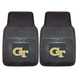 Georgia Tech  2-pc Vinyl Car Mat Set