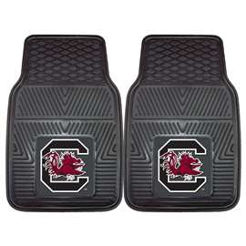 University of South Carolina  2-pc Vinyl Car Mat Set