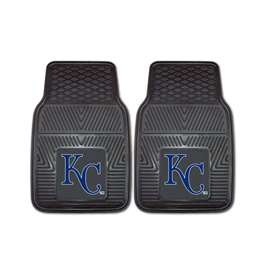 "MLB - Kansas City Royals 2-pc Vinyl Car Mats 17""x27""  2-pc Vinyl Car Mat Set"