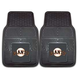 "MLB - San Francisco Giants 2-pc Vinyl Car Mats 17""x27""  2-pc Vinyl Car Mat Set"