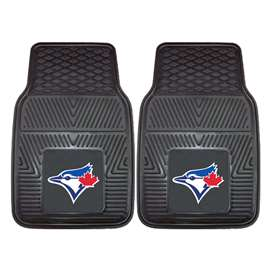 "MLB - Toronto Blue Jays 2-pc Vinyl Car Mats 17""x27""  2-pc Vinyl Car Mat Set"
