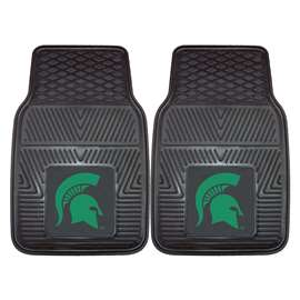 Michigan State University  2-pc Vinyl Car Mat Set