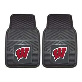 University of Wisconsin  2-pc Vinyl Car Mat Set