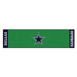 NFL - Dallas Cowboys Putting Green Mat Golf Accessory
