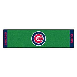 "MLB - Chicago Cubs Putting Green Runner 18""x72""   Putting Green Mat"
