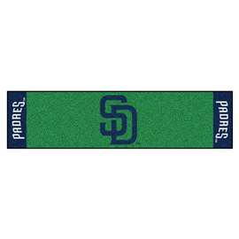 "MLB - San Diego Padres Putting Green Runner 18""x72""   Putting Green Mat"