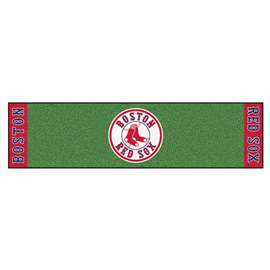 "MLB - Boston Red Sox Putting Green Runner 18""x72""  Putting Green Mat"