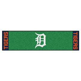 "MLB - Detroit Tigers Putting Green Runner 18""x72""   Putting Green Mat"