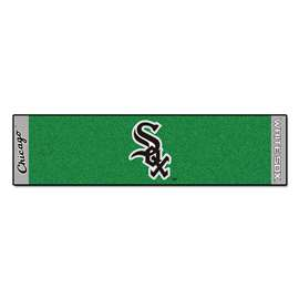 "MLB - Chicago White Sox Putting Green Runner 18""x72""   Putting Green Mat"