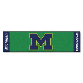University of Michigan  Putting Green Mat Golf