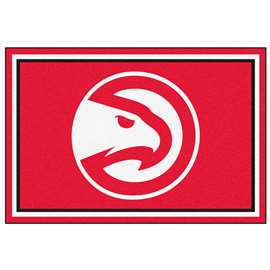 NBA - Atlanta Hawks  5x8 Rug Rug Carpet Mats