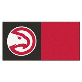 NBA - Atlanta Hawks  Team Carpet Tiles Rug, Carpet, Mats