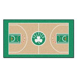 NBA - Boston Celtics  NBA Court Large Runner Mat, Carpet, Rug