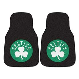 NBA - Boston Celtics  2-pc Carpet Car Mat Set