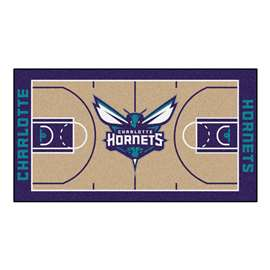 NBA - Charlotte Hornets  NBA Court Large Runner Mat, Carpet, Rug