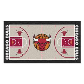 NBA - Chicago Bulls  NBA Court Large Runner Mat, Carpet, Rug