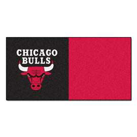 NBA - Chicago Bulls  Team Carpet Tiles Rug, Carpet, Mats