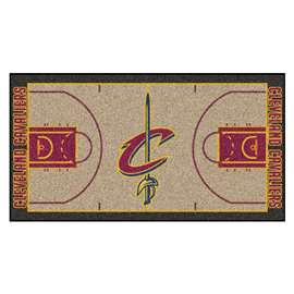 NBA - Cleveland Cavaliers  NBA Court Large Runner Mat, Carpet, Rug