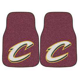 NBA - Cleveland Cavaliers  2-pc Carpet Car Mat Set
