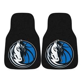 NBA - Dallas Mavericks  2-pc Carpet Car Mat Set