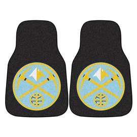 NBA - Denver Nuggets  2-pc Carpet Car Mat Set