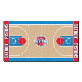 NBA - Detroit Pistons  NBA Court Large Runner Mat, Carpet, Rug